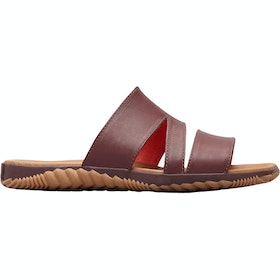 Sorel Out N About Plus Slide Ladies Sandals - Elderberry