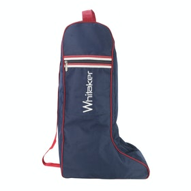 John Whitaker Kettlewell Boot Bag - Navy Red