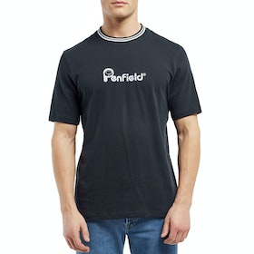 Penfield Highland , Kortärmad T-shirt - Black