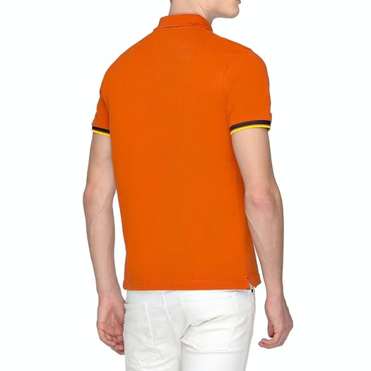 K-Way Vincent Contrast Polo Shirt