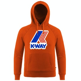 K-Way Sean Ft Macro Pullover Hoody - Orange Dk