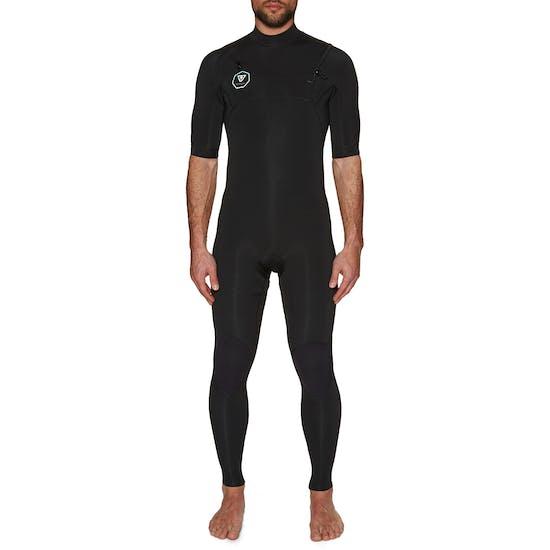 Vissla 7 Seas 2mm Short Sleeve Chest Zip Wetsuit