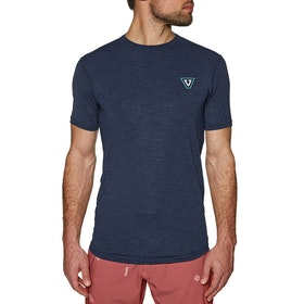 Vissla Alltime Short Sleeve Surf T-Shirt - Naval Heather