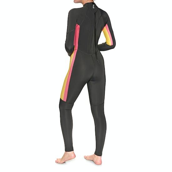 Sisstrevolution 7 Seas Stripe 3/2mm Back Zip Wetsuit