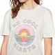 Sisstrevolution Be Cool Crop Womens Short Sleeve T-Shirt