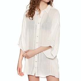 Sisstrevolution Lacey Days Dress - Vintage White