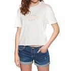 Sisstrevolution Reflection Crop Ladies Short Sleeve T-Shirt