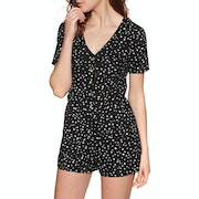 Sisstrevolution Such A Kick Romper Jumpsuit