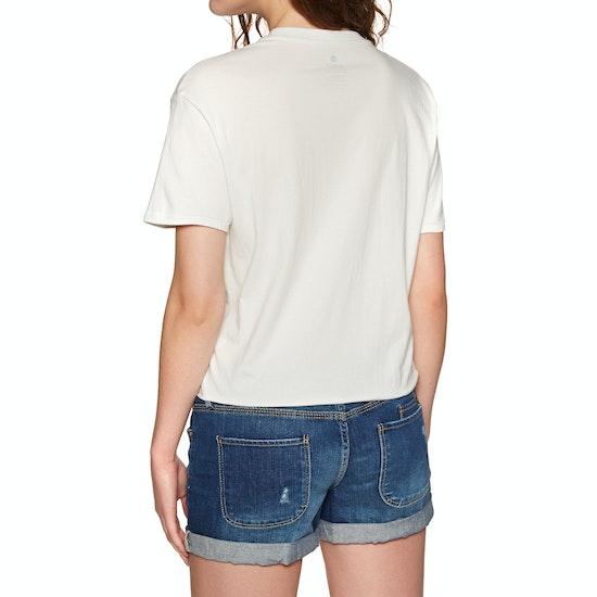 Sisstrevolution Reflection Crop Womens Short Sleeve T-Shirt