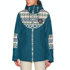 Picture Organic Mineral Snow Jacket - Petrol Blue