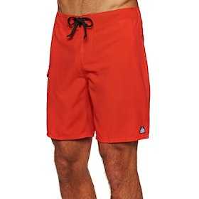 Reef Lucas 4 Shortie Boardshorts - Red