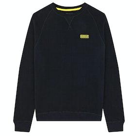 Barbour International Essential Crew Sweater - Black