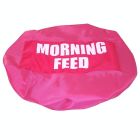 Bitz Morning Feed Bucket Cover - Fluorescent Pink