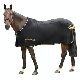 John Whitaker Thornton Show Fleece Rug - Black Gold