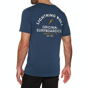 Lightning Bolt Honolulu Vintage Wash Short Sleeve T-Shirt