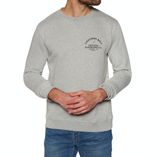 Lightning Bolt Venice Surf Co Crew Sweater