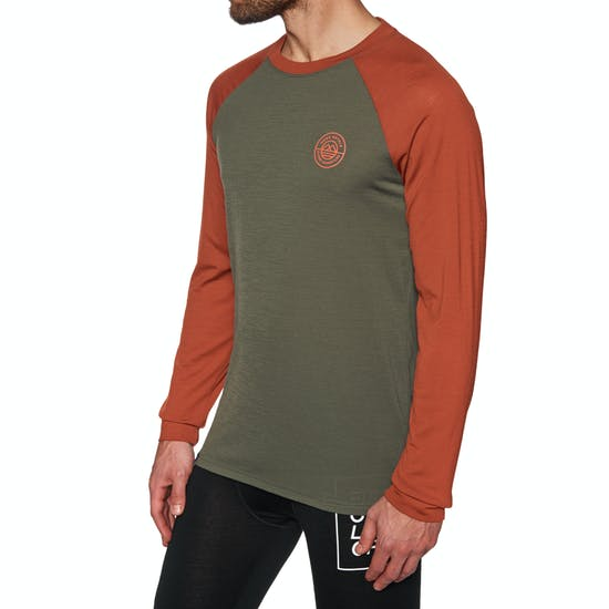 Top de base interior Mons Royale Icon Raglan Long Sleeve