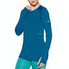 Mons Royale Olympus 3 Ls Womens Base Layer Top - Oily Blue
