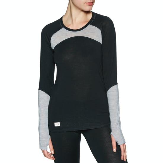 Mons Royale Bella Tech Ls Womens Base Layer Top