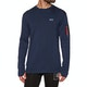Mons Royale The Harkin Jersey Crew Base Layer Top