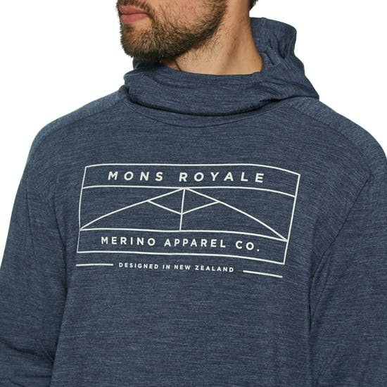 Mons Royale Covert Lite Funnel Hood Base Layer Top