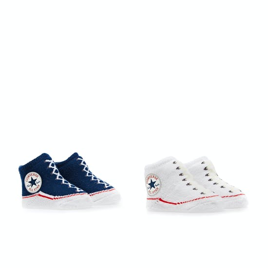 Converse 2pk Booties Socks