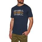 O'Neill Triple Logo Short Sleeve T-Shirt