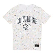Converse Printed Splatter Kids Short Sleeve T-Shirt
