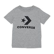 Converse Stacked Wordmark Graphic Kids Short Sleeve T-Shirt