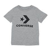 Converse Stacked Wordmark Graphic Kinder Kurzarm-T-Shirt