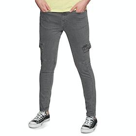 Pantalon Cargo Femme Superdry Daisey Skinny - Iron Grey