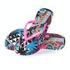 Sandales Femme Superdry Super Sleek Aop - Crazy Tropical