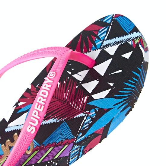 Sandales Femme Superdry Super Sleek Aop