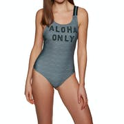Hurley Quick Dry Aloha Only Ladies Swimsuit