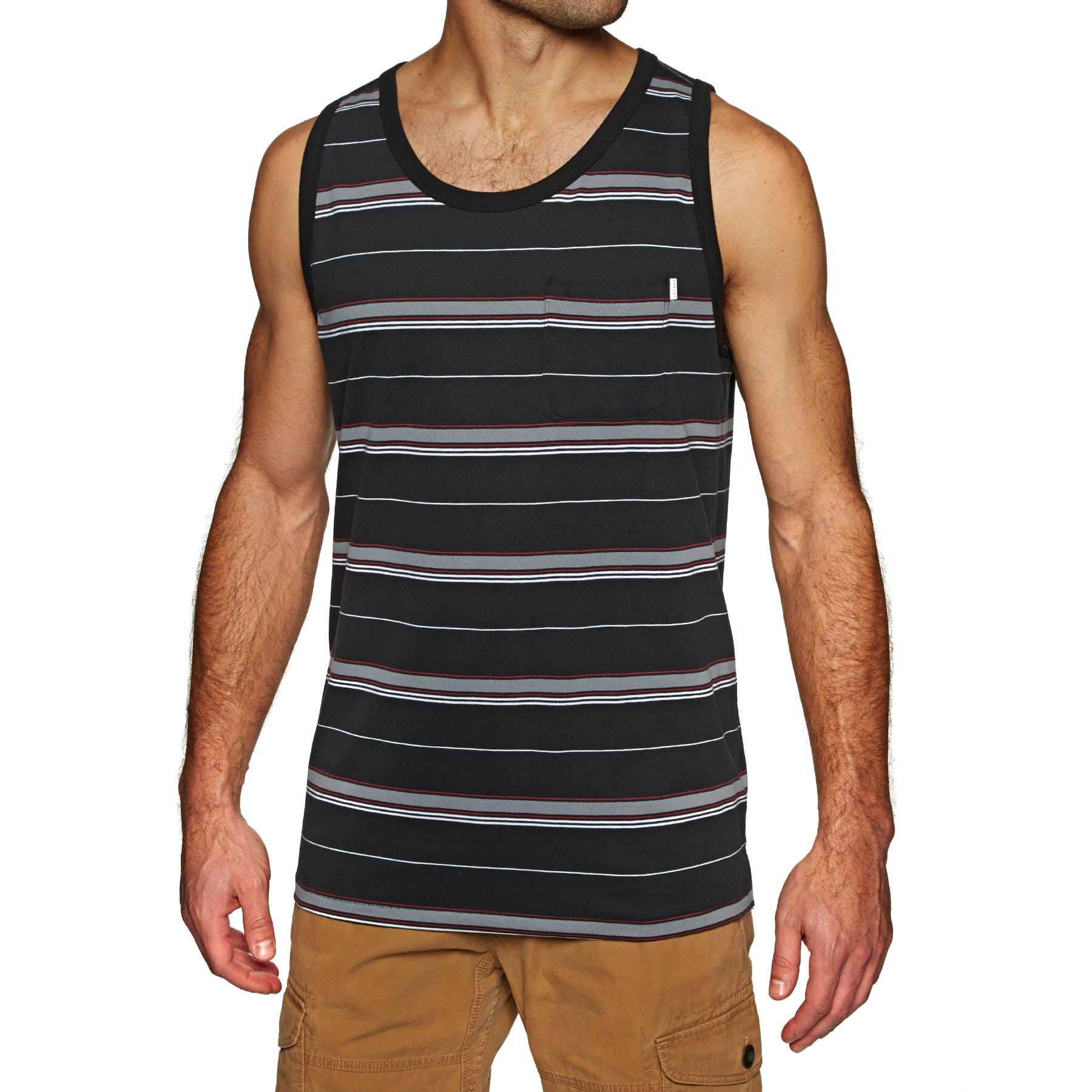 Hurley Drifit Harvey Stripe Pocket Tank Vest
