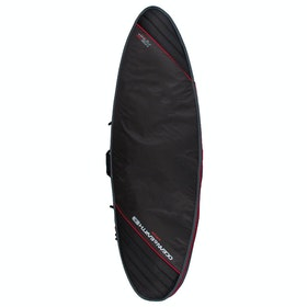 Ocean and Earth Aircon Heavy Weight Fish Surfboard Bag - Black Light Red