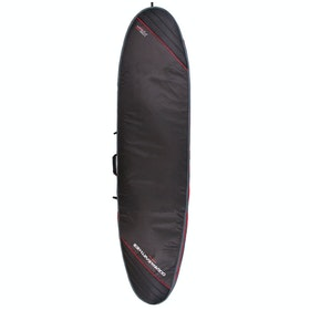 Ocean and Earth Aircon Heavy Weight Longboard Surfboard Bag - Black Light Red