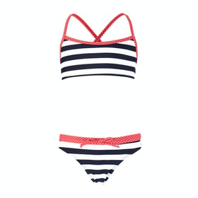 Biquini Girls Barts Kiana Cross Back - Navy