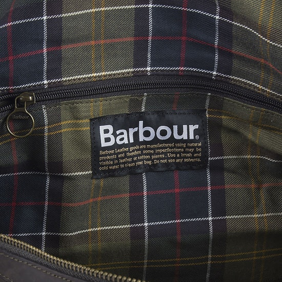 Barbour Wax Holdall Duffle Bag