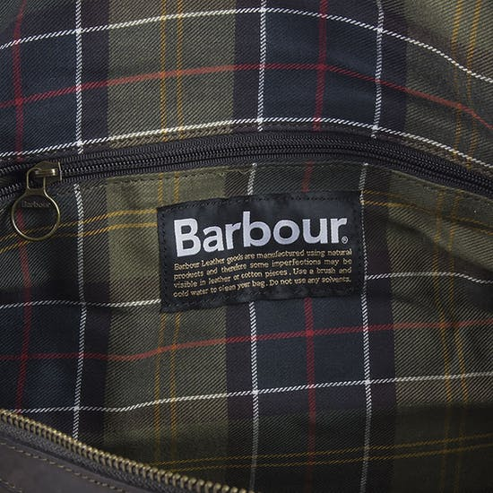 Marsupio Barbour Wax Holdall