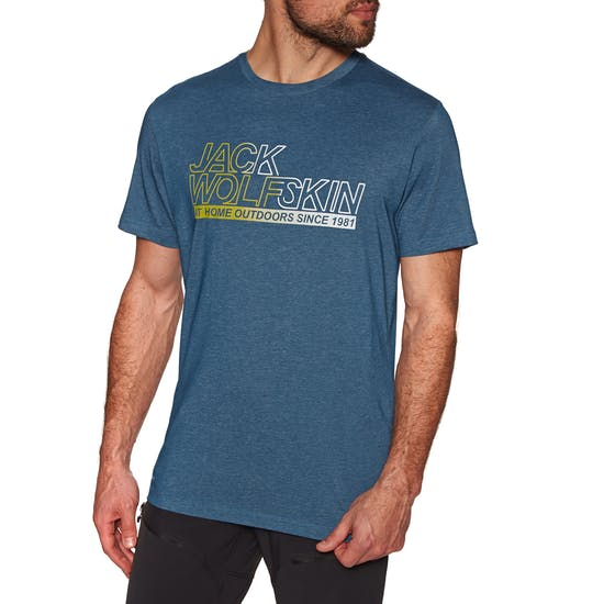T-Shirt à Manche Courte Jack Wolfskin Ocean