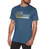T-Shirt à Manche Courte Jack Wolfskin Ocean - Poseidon Blue