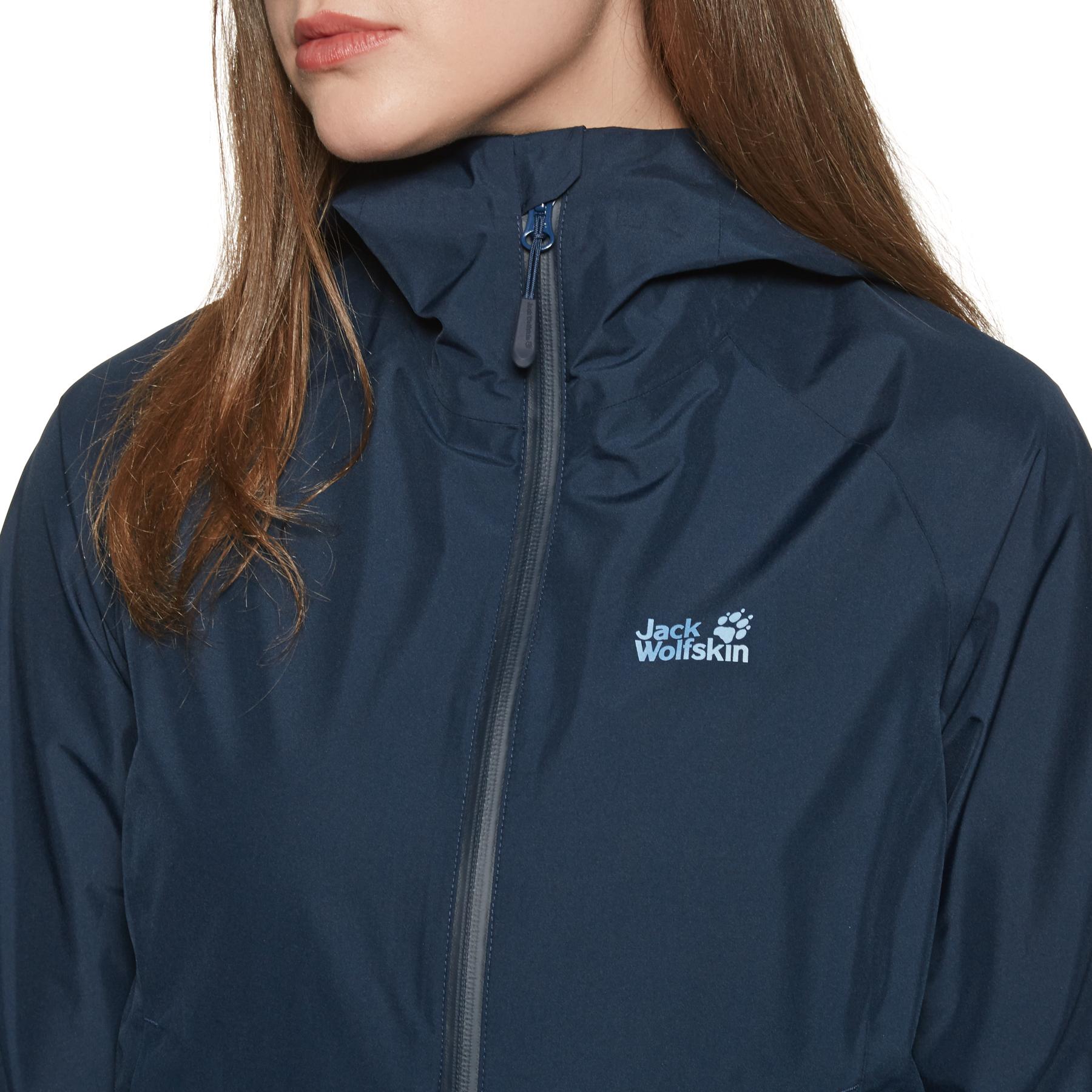 Jack Wolfskin Scenic Trail Jacket Damen midnight blue |