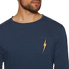 Lightning Bolt Og Pocket Long Sleeve T-Shirt