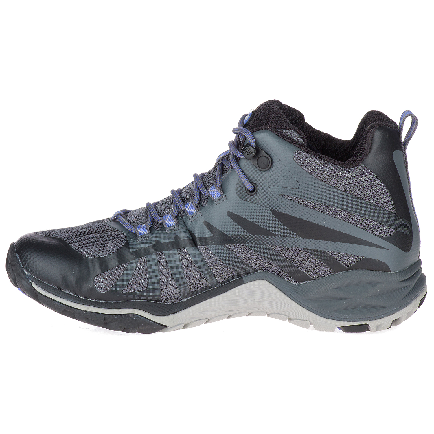 Merrell Siren Q2 Waterproof Mid Women/'s Outdoor Hiking Walking Boots Black