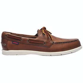 Sebago Naples Slip On Trainers - Dark brown