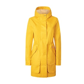 Hunter W Ori R Cotton Hunting Coat Damen Jacke - Yellow