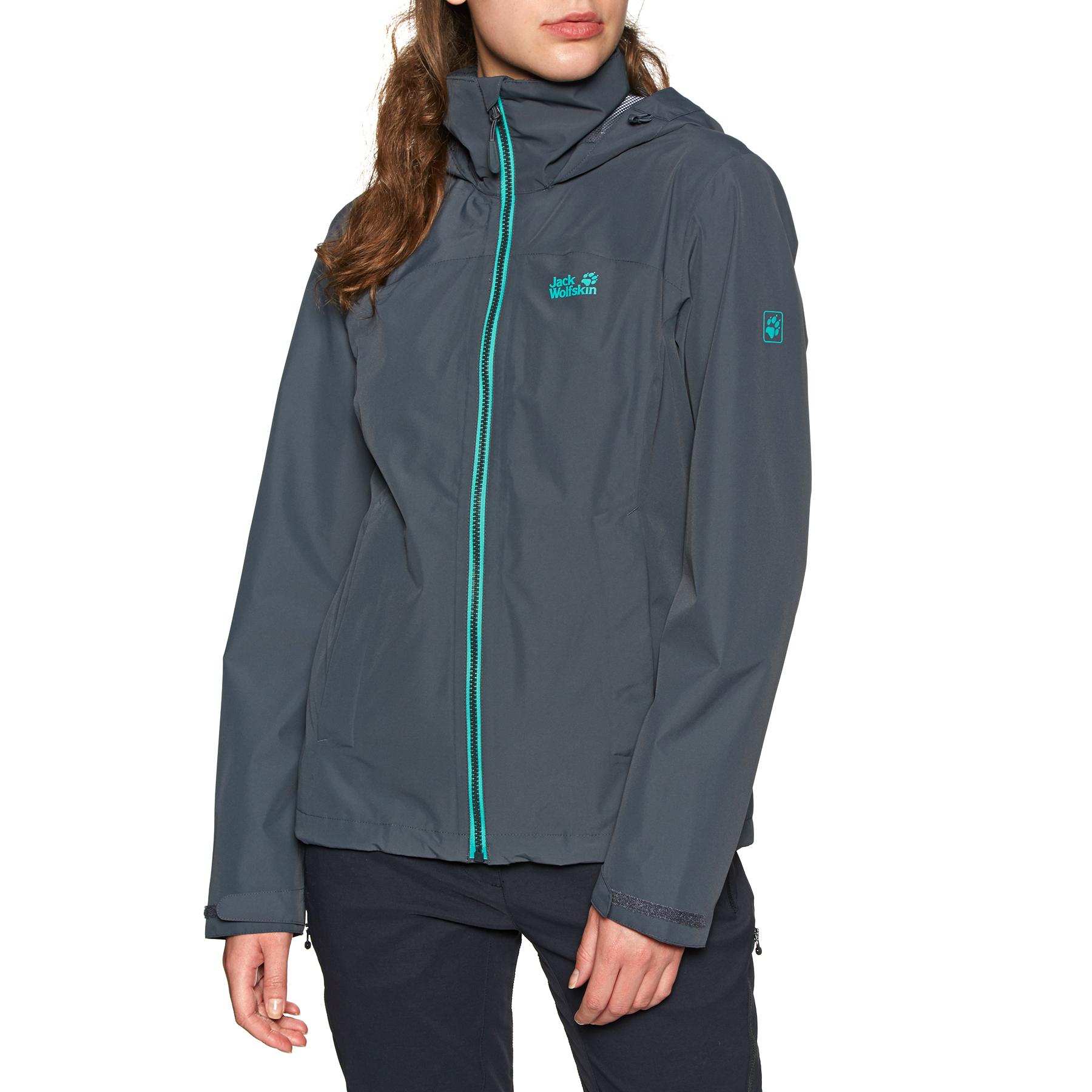 Womens Jack Evandale Jacket Free Waterproof Wolfskin I9W2EDH