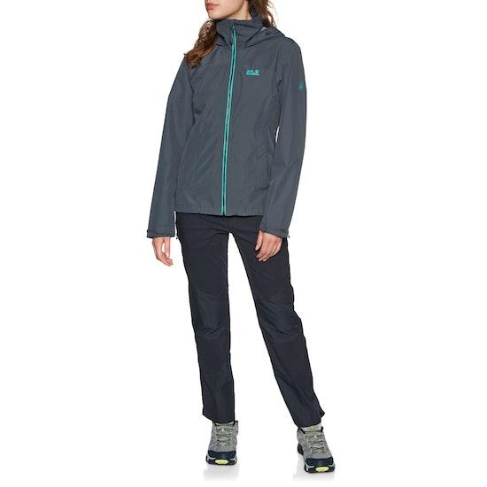 Jack Wolfskin Evandale Womens Waterproof Jacket