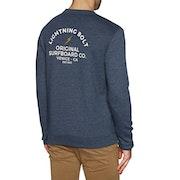 Lightning Bolt Venice Surf Co Crew Sweater